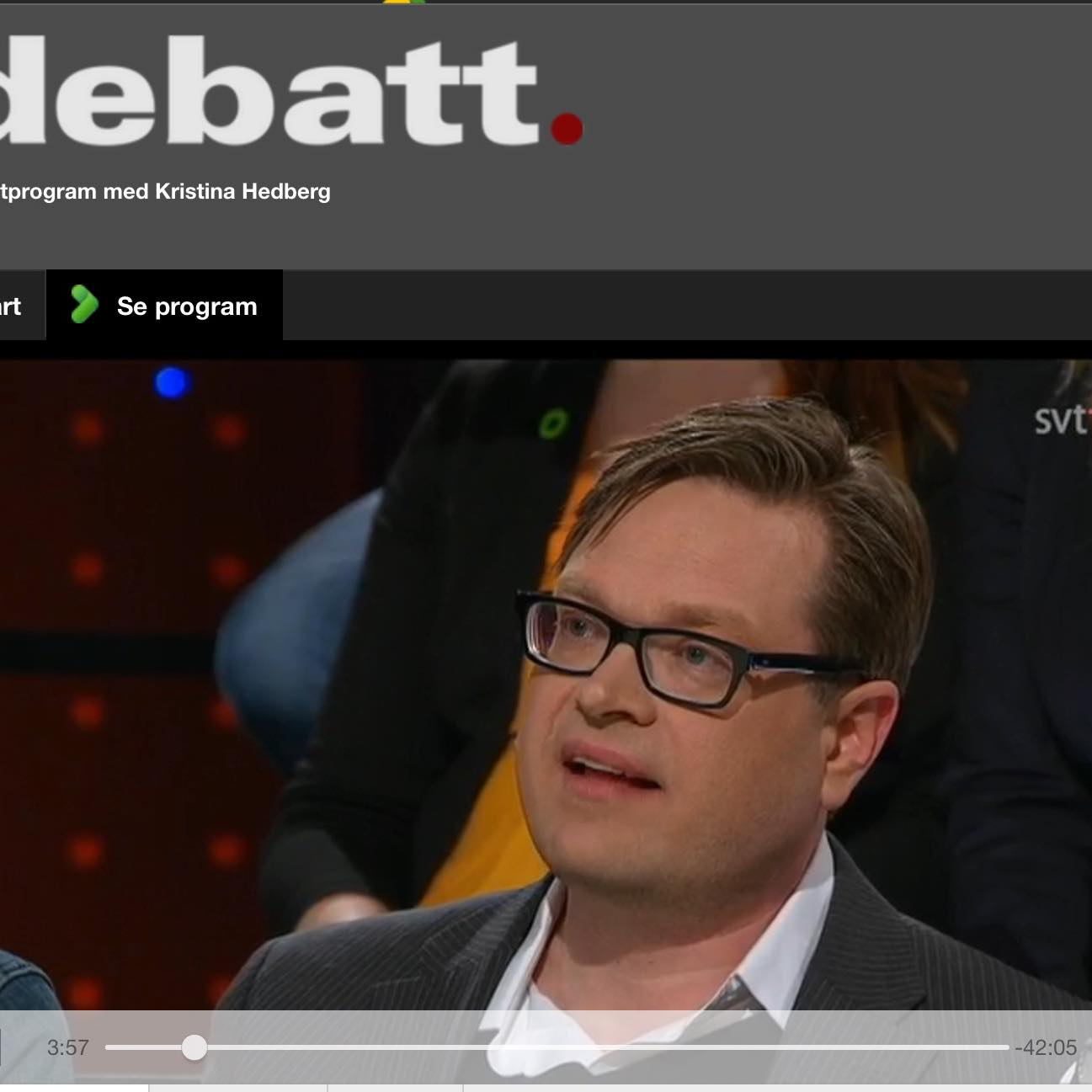 Nätdejting debatt svt